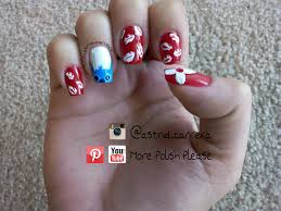 lilo u0026 stitch nail art design please visit my youtube channel for