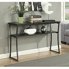 convenience concepts savannah console table coffee tables end tables kmart