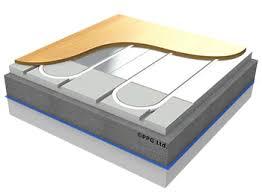 underfloor heating floor type easyfix aluplate floating floor