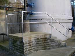 Galvanised Handrail Galvanised Tube Saftey Railings M U0026d Mobile U0026 General Engineering Ltd