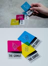 Flat Design Business Card 48 Best Cmyk Images On Pinterest Business Card Design Business