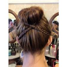different hair buns pretty hair styles polyvore