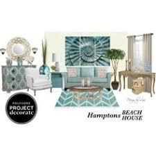 Jessica Mcclintock Home Decor Hamptons Beach House By Aimee Corrado On Polyvore Featuring
