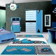 tapis pour chambre de garçon blue et gris speed voiture f1 speed
