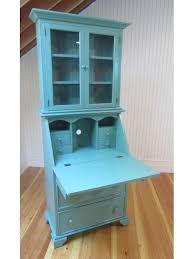 Secretary Style Computer Desk by Secretary Desk Cottage Teal 387 Cottage Home