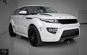 land rover evoque black modified edition range rover evoque according to onyx concept