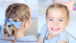 Toddler Hairstyles For Girls by Criss Cross Pigtails Toddler Hairstyles Cute Girls Hairstyles