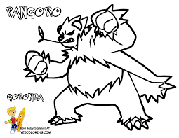 spectacular pokemon x and y pangoro tell other kids you found