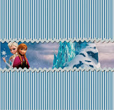 frozen party free printable candy bar labels parties