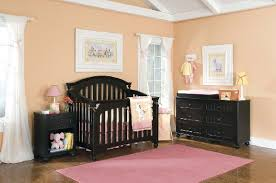 my style convertible crib in black the frog and the princess