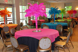 feather centerpieces our gallery balloon artistry