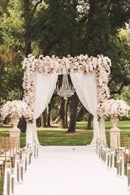 wedding ceremony arch 44 lush floral wedding ideas that wow happywedd