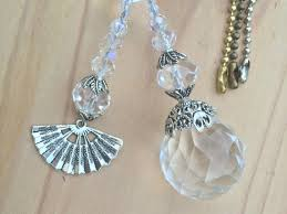 ceiling fan pull chain set ceiling fan pull chains crystal light pull set ball chain pull
