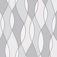 fine decor apex geometric metallic wallpaper triangles trellis