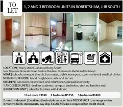 2 Bedroom Flat In Johannesburg To Rent Apartments And Flats In Johannesburg Junk Mail