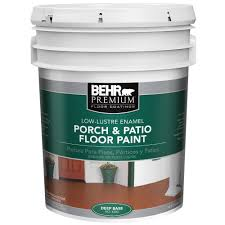 behr premium 5 gal 6300 deep low luster interior exterior porch