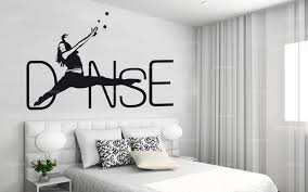 stickers deco chambre sticker danse