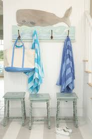 cool coat hooks entry beach style with coastal home entry bench