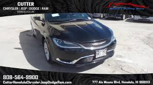 2015 chrysler jeep pre owned 2015 chrysler 200 limited 4dr car in honolulu w9897