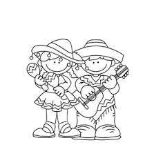 cinco de mayo coloring pages pixelpictart com