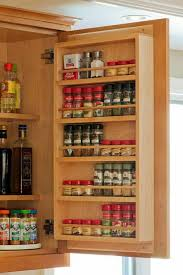 Wall Mount Spice Racks For Kitchen Kitchen Wall Mounted Spice Rack Door Spice Rack Kitchen Storage