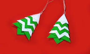 quick origami christmas tree great ideas for christmas decoration