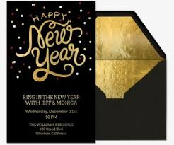 happy new year invitation new year s party evite