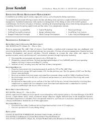 Hotel Resume Examples Examples Of Resumes Resume Objective Hotel Front Desk Office