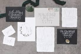 calligraphy invitations weddings brush nib studio painting lettered