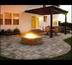 Backyard Paver Patio Ideas Best 25 Pavers Patio Ideas On Pinterest Paver Stone Patio