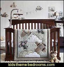 Plane Crib Bedding Overstock This Adorable Crib Bedding Set Features The Softest