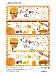 thanksgiving blessing mix thanksgiving pumpkin treat bags thanksgiving toppers happy