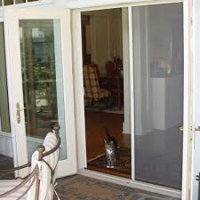 Out Swing Patio Doors Retractable Screen Doors Air Tech Screen Products