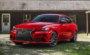 sporty lexus 4 door 2016 lexus is200t f sport test u2013 review u2013 car and driver