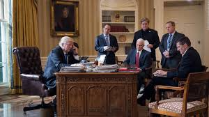 oval office wallpaper trump u0027s administration departures in a photo cnn video