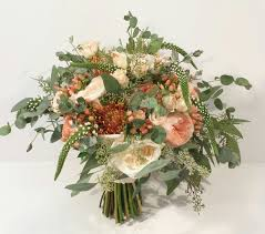 wedding flowers calgary and coral wedding bouquets dahlia floral design