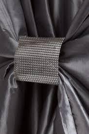universal taffeta self tie chair cover silver gray at cv linens