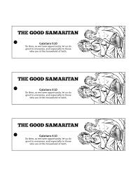 the good samaritan bible bookmarks the good samaritan is a