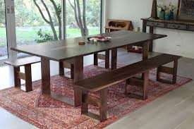 Walnut Dining Room by Portfolio Claro Walnut Dining Table Offerman Woodshop