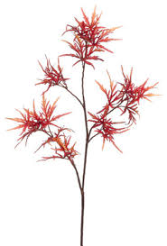 Flowers Direct Silk Plants Direct Japanese Maple Leaf Pack Of 6 Traditional