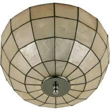 capiz flush mount light capiz flush mount ceiling light home design ideas