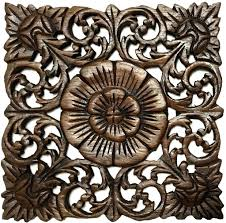 wall ideas carved wall decor carved scroll wall decor carved carved wood wall art items rustic home decor wood plaque bali home decor oriental carved lotus