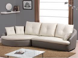 canape d angle bicolore canapé d angle cuir de buffle capriccio ii bicolore blanc ivoire