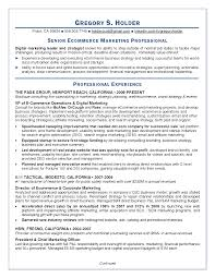 resume objective for marketing retail resume general career