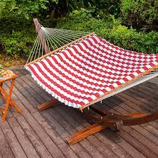 lazydaze hammocks double size pillow top hammock spreader bar