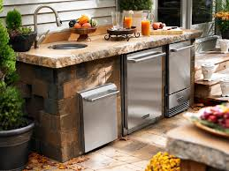 outside kitchen ideas pictures of outdoor kitchen design ideas inspiration hgtv