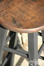 best ideas about bar stool makeover pinterest french inspired bar stool makeover