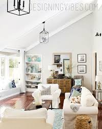 transforming a dark outdated living room into a light and airy