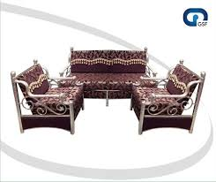 SS Sofa Set Designer Steel Sofa Set Manufacturer From Rajkot - Steel sofa designs