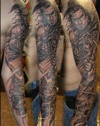 s samurai sleeve tattoos rebel circus